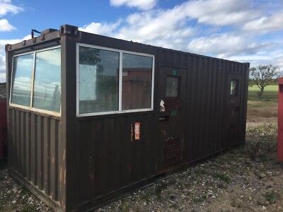 20 foot shipping container / office