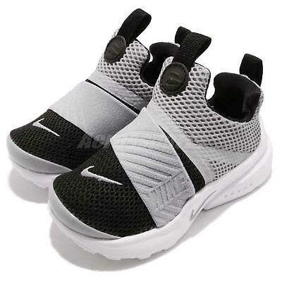 0d9f04f4dcf9 NIKE PRESTO EXTREME TD Grey Black White Toddler Infant Baby Shoes  870019-006 -  62.99