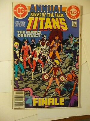 Tales of the Teen Titans Annual 3 DC Deathstroke Terra Dies Bronze Age 2A