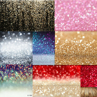3x5FT Multicolor Pretty Glitter Backdrop Background Wall Photo Party Photography