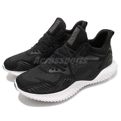 brand new f385b 15a08 adidas Alphabounce Beyond M Bounce Black White Men Running Shoes Sneakers  AC8273