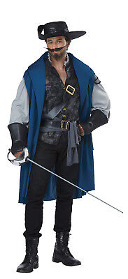 Deluxe Musketeer French Renaissance Adult  Men Costume