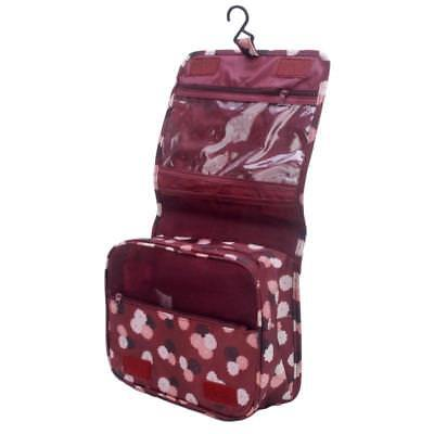 Travel Cosmetic Makeup Toiletry Case Wash Organizer Storage Pouch Hanging Bag BS