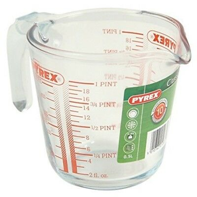 Pyrex Glass Measuring Jug, 0.5l - Jug 05l 1