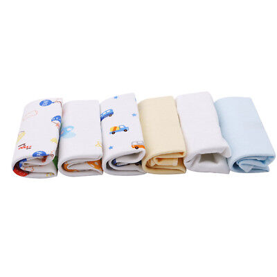 Baby Wash Cloth Washers Face Hand Towels Cotton Wipe Newborn Gift Box BS