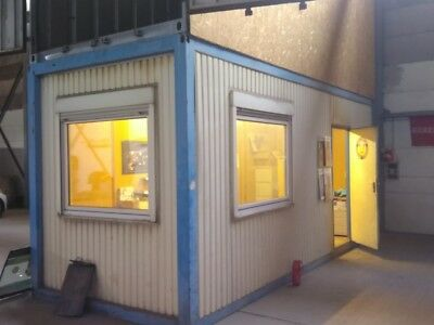 """Bürocontainer Wohncontainer Lagercontainer Baucontainer 6.00 x 2,50 20"""""""