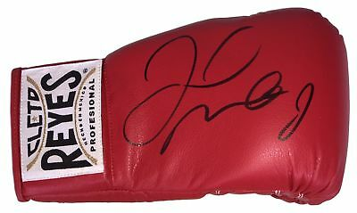 Floyd Mayweather Jr Signed Red Cleto Reyes Right Hand Boxing Glove Beckett BAS