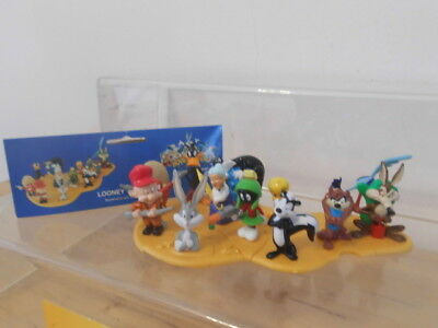 Bugs Bunny Looney Tunes Insel 12 x Figur Warner Brothers Movie World -selten-