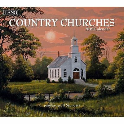 2019 Country Churches Wall Calendar,  by Lang Companies