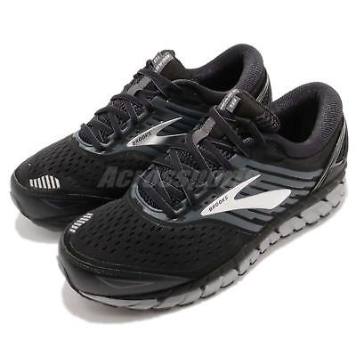 27089130450 Brooks Beast 18 4E Extra Wide Black Grey Silver Men Running Shoes 110282 4E