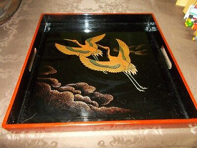 Japanese Lacquer Seving Tray