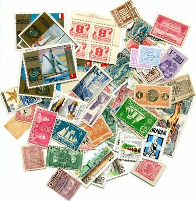 Worldwide Grab Bag Packet 100+ Unchecked Stamps With Free Shipping