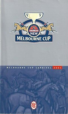 2001 Melbourne Cup Racebook - Ethereal