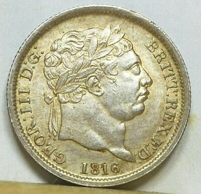 Great Britain Shilling 1816 Choice Uncirculated NO RESERVE