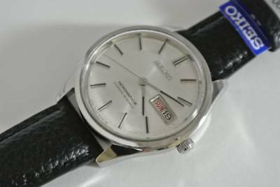 Seiko Seikomatic Day Date Vintage Hand-winding Authentic Men's Watch Working