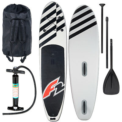 F2 Inflatable Allround Air Windsurf SUP Stand Up Paddle Paddling WS-Option SET