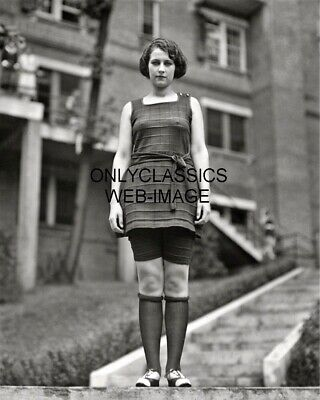 1922 Miss Washington Evelyn Lewis In Bathing Suit Beauty Winner 8X10 Photo Pinup