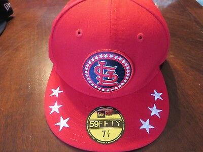 on sale faa35 68982 St. Louis Cardinals New Era 2018 All-Star Workout Fitted Hat Cap 59FIFTY MLB