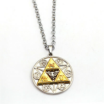 Game The Legend of Zelda Link Metal Pendant Necklace Cosplay Chain