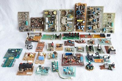 Vintage Assorted Pcb Boards With Some Useful Applications/components Radio/ham