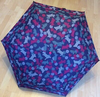 RADLEY Spots & Stripes Telescopic Umbrella    BRAND NEW and WITH TAGS. BNWT
