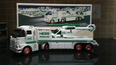 Hess Truck-2006 Helicopter & 2002 Airplane