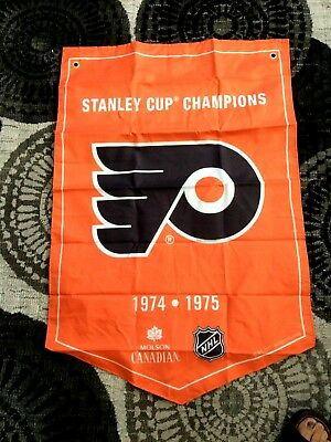 2018  Molson Canadian  Stanley Cup Champions Banner  Philadelphia Flyers - New