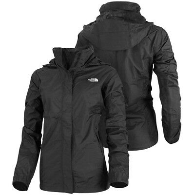The North Face W Resolve Damen Jacke Outdoor Regen Windjacke black T0AQBJJK3