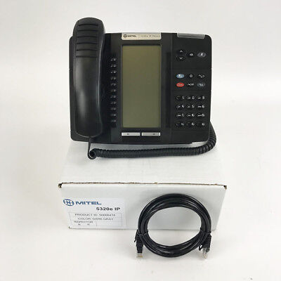 Mitel MiVoice 5320E Non-Backlit IP Phone(50006474)