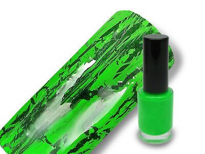 Crackle Lack Crackling Polish Nagellack 5ml in crazy green