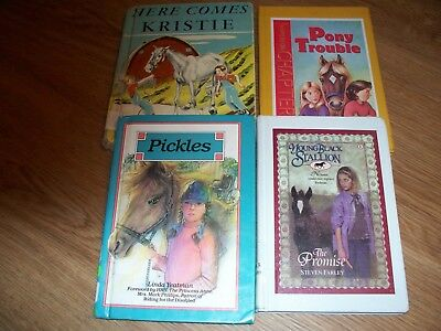 Promise Farley Trouble Gasque Pickles Yeatman Brock Childrens Horse Book Lot