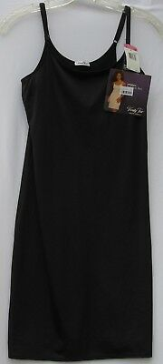 "NEW ! Vanity Fair 18"" daywear solutions slip with hidden bra women's size small"