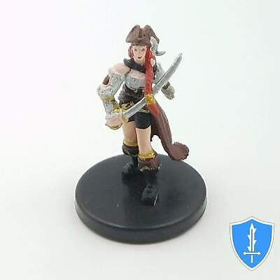 Tessa Fairwind, Half-elf Pirate - Skull & Shackles #24 Pathfinder Battles D&D