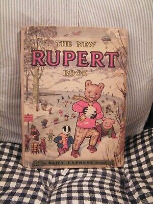 Vintage Annuals The New Rupert Book