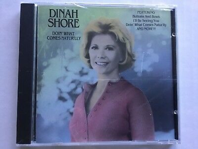 DINAH SHORE - Doin What Comes Naturally 1992 CD **BRAND NEW/STILL SEALED**