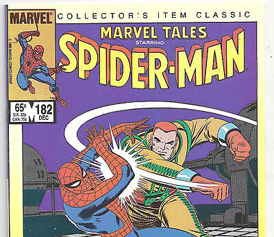The Amazing Spider-Man #42 Reprint in Marvel Tales #182 from Dec. 1985 in VF