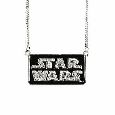 Star Wars Classic Bling Logo Metal Necklace Cosplay Jewelry Licensed
