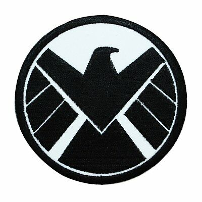 Marvel Comics Agents of S.H.I.E.L.D. Patch Shield Superhero Iron-On Applique
