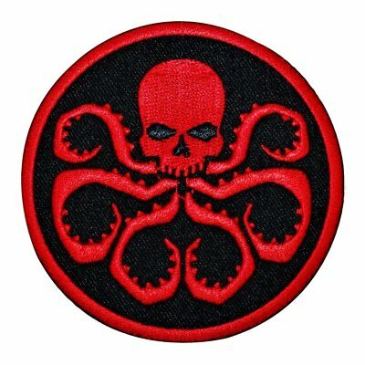 Marvel Comics Hydra Crest Agents of S.H.I.E.L.D. Patch Evil IronOn Applique