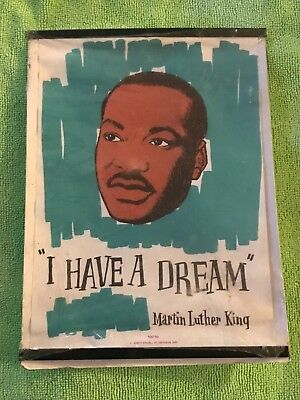 Martin Luther King I have a dream 1963 linen / never out of package