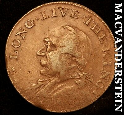 Great Britain: 1795 Half Penny Conder Token - Long Live The King - #b6643
