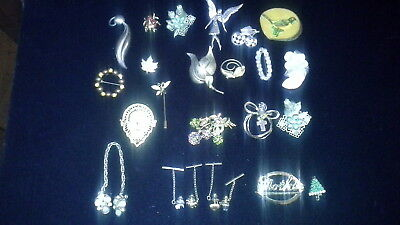 Vintage / Antique Lot Of Broaches
