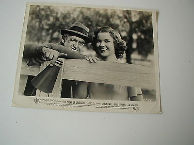 Original 1949 Movie Photo Sea Biscuit Shirley Temple 8 1/2X11 Black And White