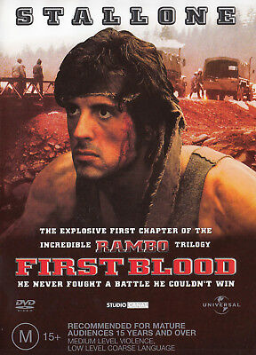 RAMBO FIRST BLOOD  DVD R2 + 4 PAL Sylvester Stallone  SirH70