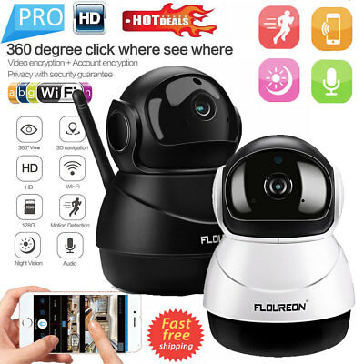 HD 1080P Wireless IP Camera Home CCTV WiFi Security System Network Night Vision