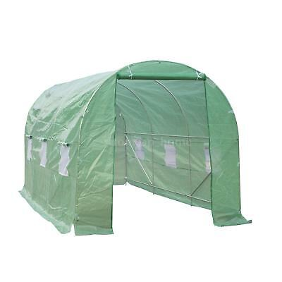 15' Portable Greenhouse Walk In Green House Outdoor Year Around Plant Gardening