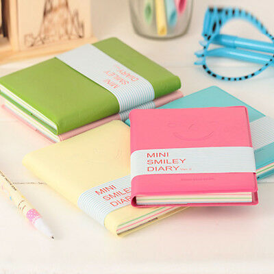Portable Notebook Pocket Diary Memo Notepad PU Leather Korean Student Supplies