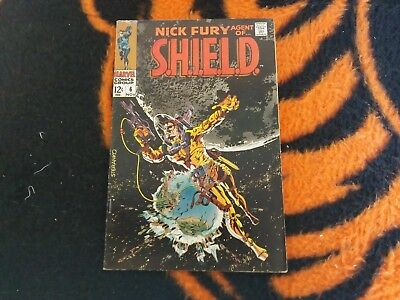 Nick Fury  : Agent Of Shield #6  Nov/1968 Fn The Others