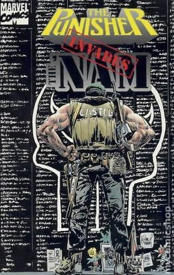 Punisher Invades The 'Nam TPB (Marvel) Final Invasion #1-1ST 1994 VF Stock Image