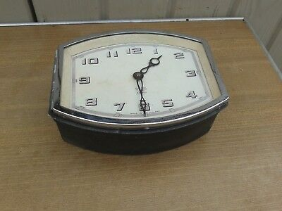 Smiths, Very Rare Vintage Smiths (Ma)  No X.52460/12  8 Day Bus Clock, Working,